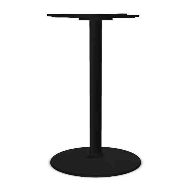 Dual 45 Table Base, H72cm, Black