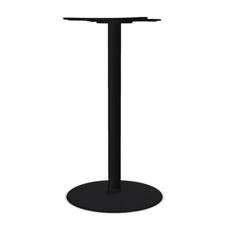 Dual 60 High Table Base, H109cm, Black
