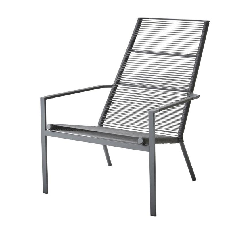 Edge Highback Chair, Anthracite