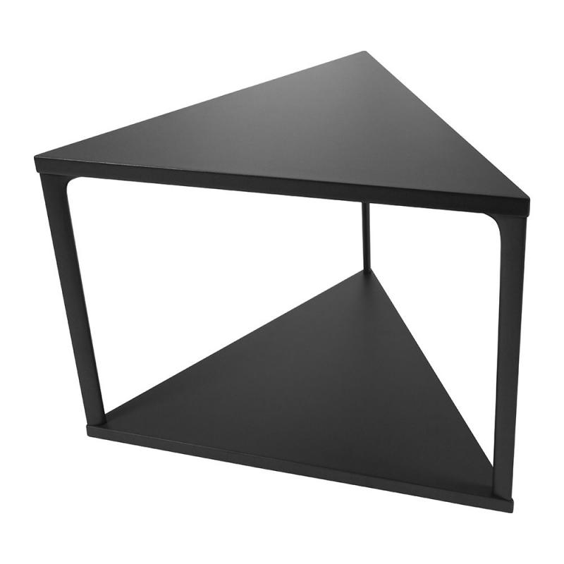 Eiffel Side Table, Triangle, Black