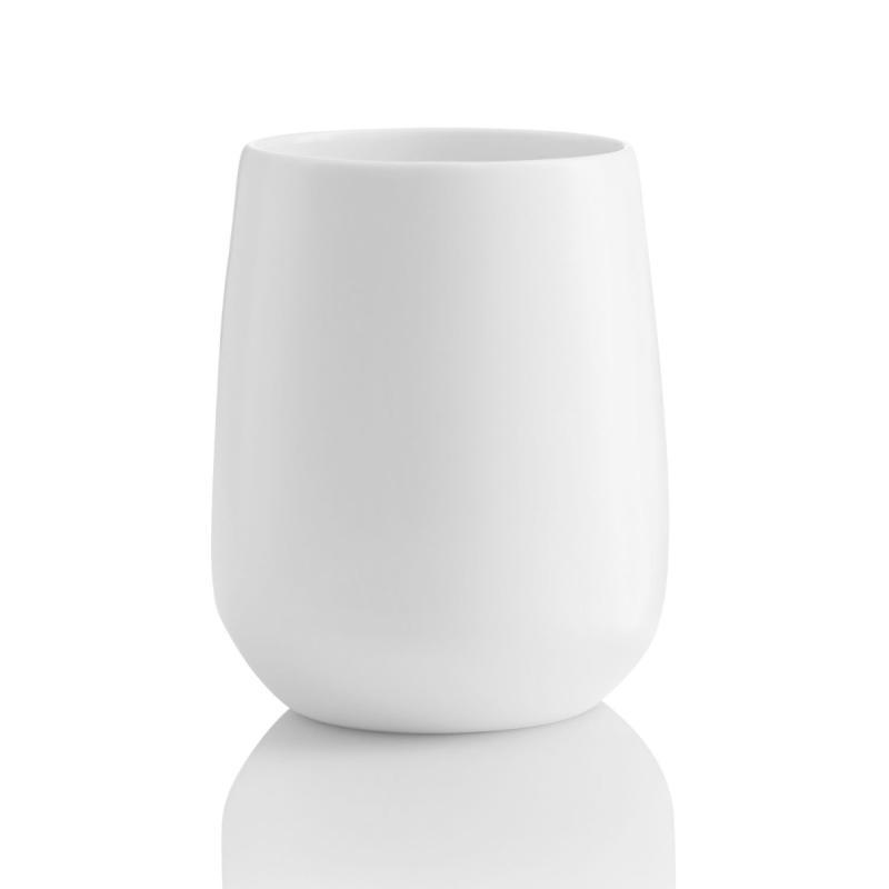 Enso Double Wall Mug, White