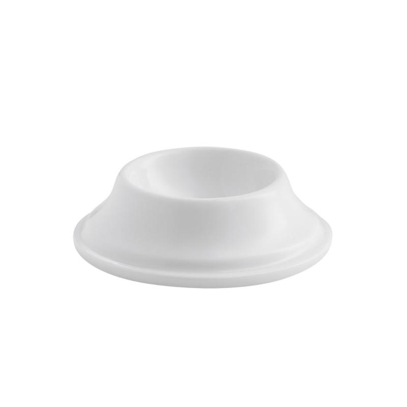 Enso Egg Cup/Lid, White