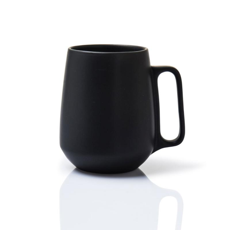Enso Mug With Handle, Black