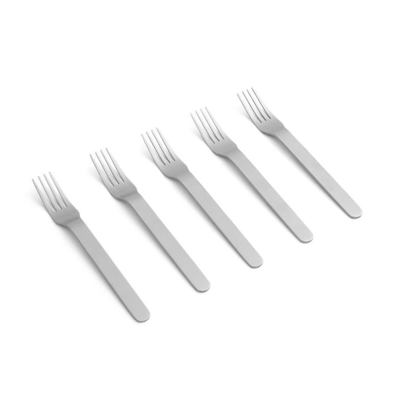 Everyday Fork Set, Brushed Stainless Steel