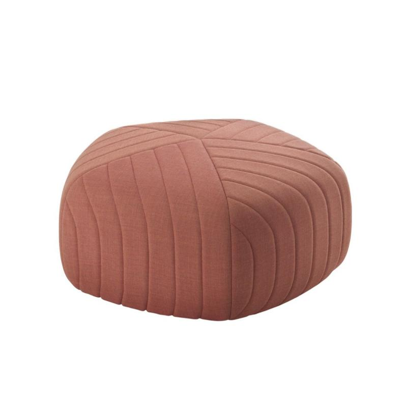 Five Pouf, Small, Red