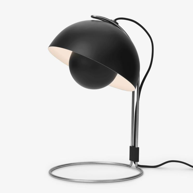 Flowerpot Table Lamp VP4, Matt Black