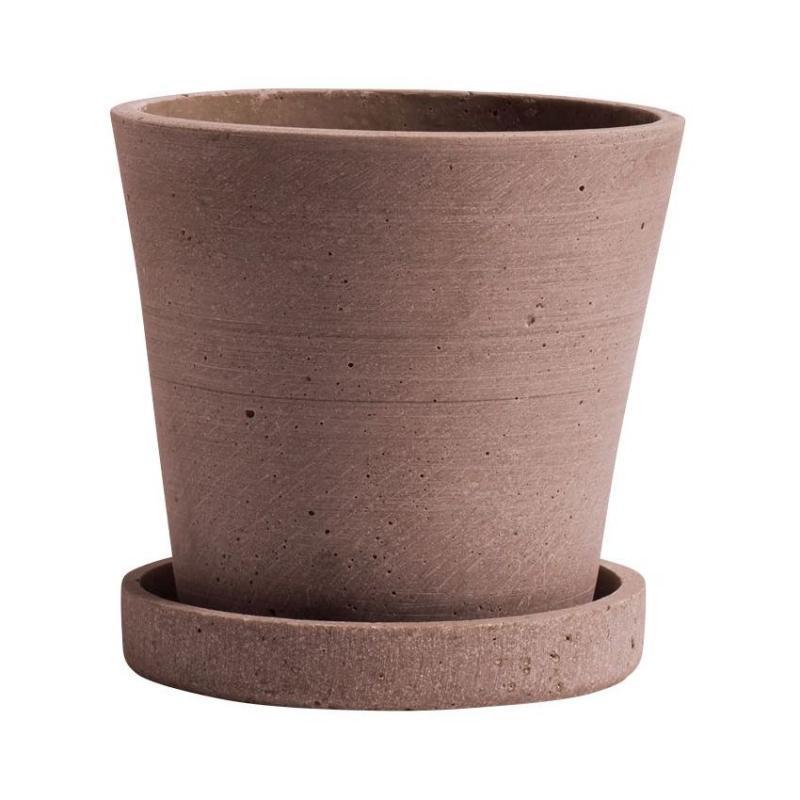Flowerpot With Saucer, XL