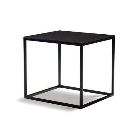 Frame Low Table, 40x45cm, Black