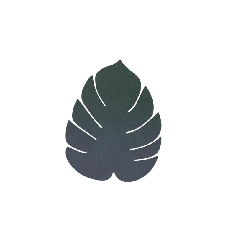 Monstera Leaf Glass Mat, Nupo Leather