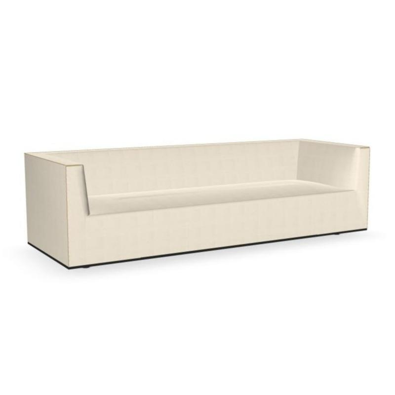 Grand Raglan Sofa, 3-Seater, White Upholstery