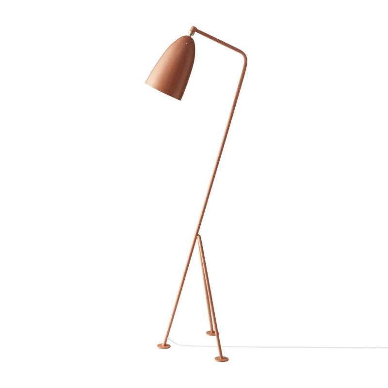 Gräshoppa Floor Lamp, Vintage Red