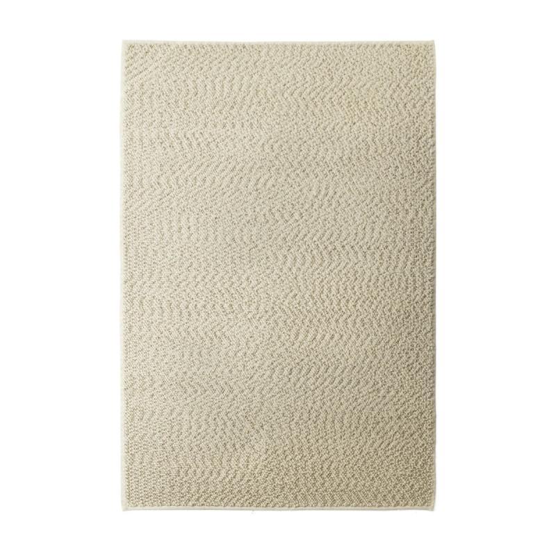 Gravel Rug, 170x200cm, Ivory
