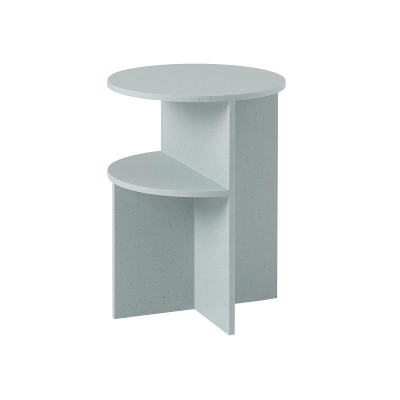 Halves Side Table, Sage Green