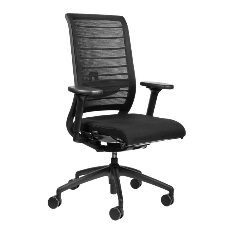 Hero 172H Office Chair, Mesh Backrest / Black Seat / Black Frame