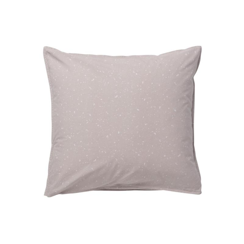 Hush Pillowcase, 63x60cm, Milkyway Rose