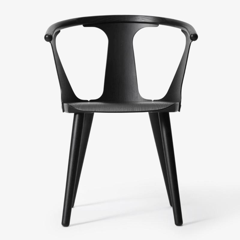 In Between Chair SK1, Black Lacquered Oak