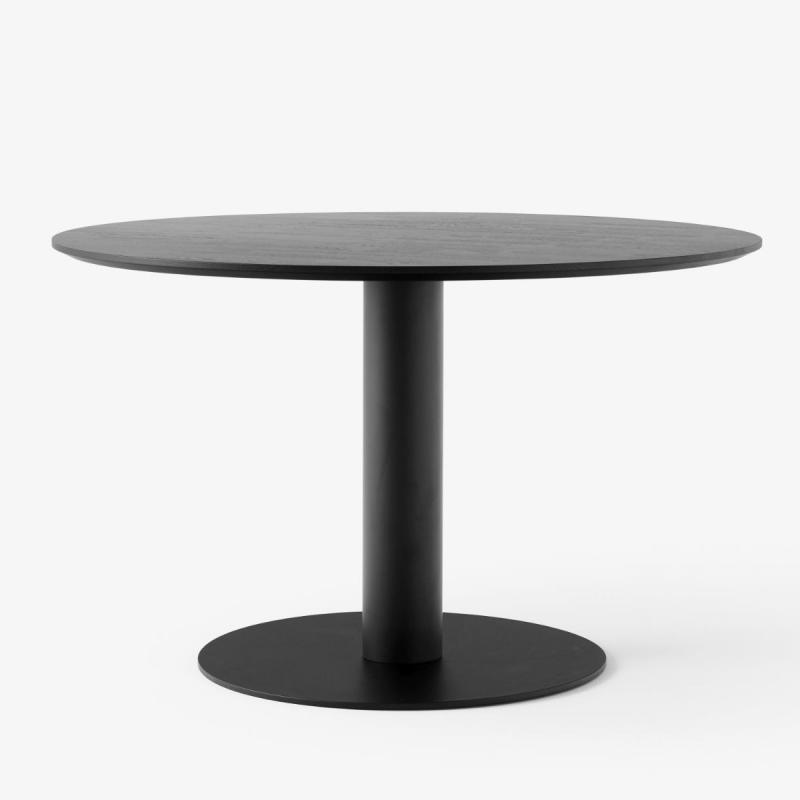 In Between Table SK12, Black Lacquered Oak