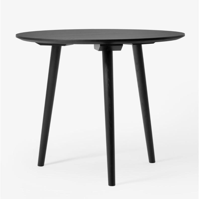 In Between Table SK3, Black Lacquered Oak