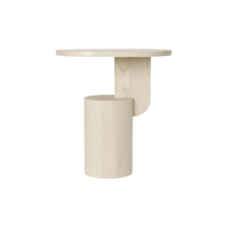 Insert Side Table, Natural Ash