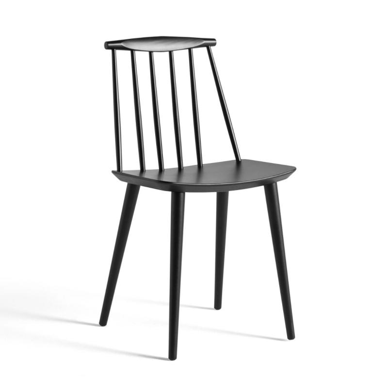 J77 Chair, Black