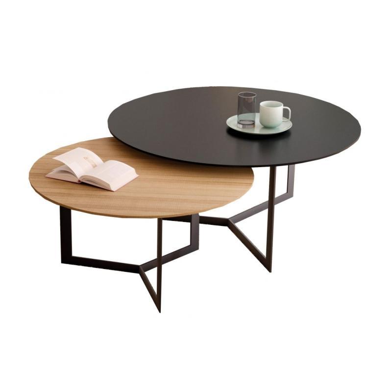 Kabi Coffee Table, Ø65cm, Oak