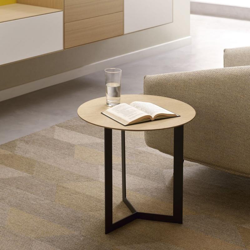 Kabi Coffee Table, Ø50cm, Oak