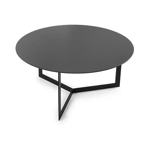 Kabi Coffee Table, Ø80cm, Black