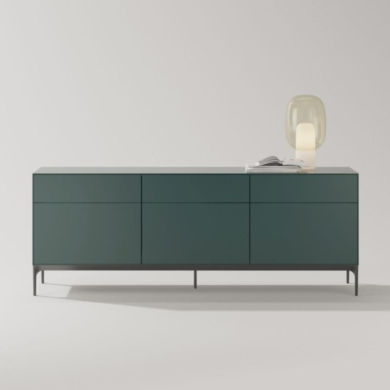 Lauki Sideboard, 192x72cm, Forest Green