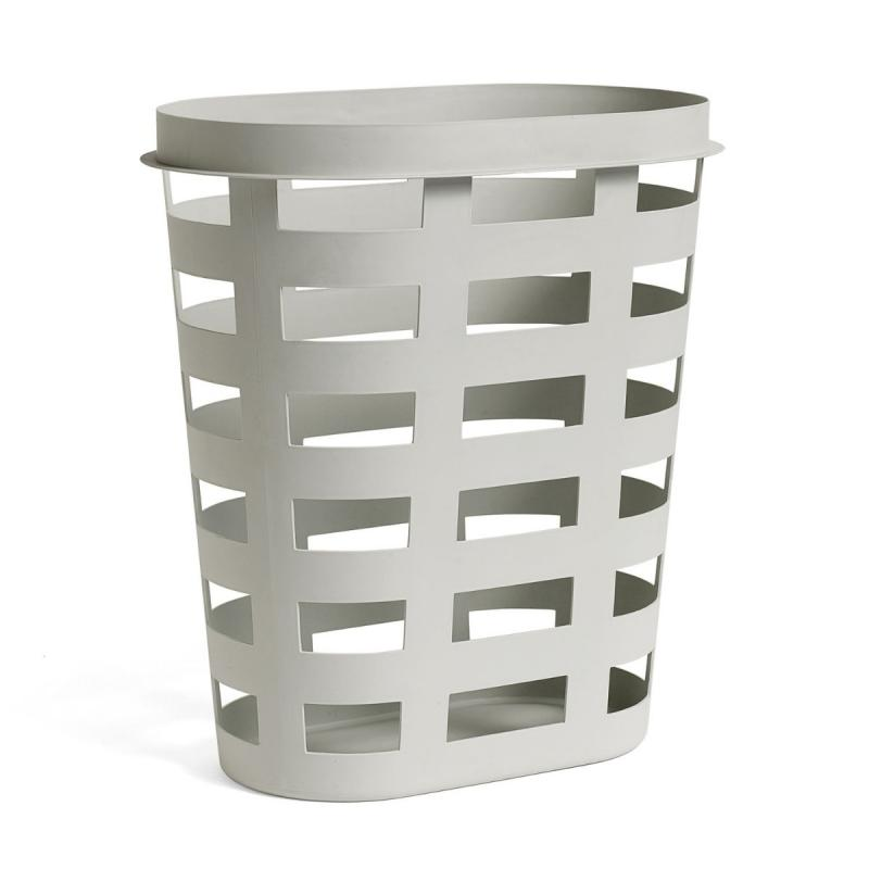 Laundry Basket, L, Light Grey