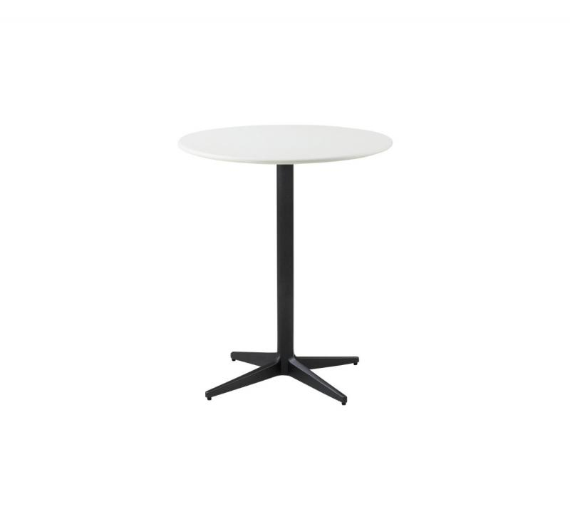 Drop Cafe Table, Ø60cm, Lava Grey Base
