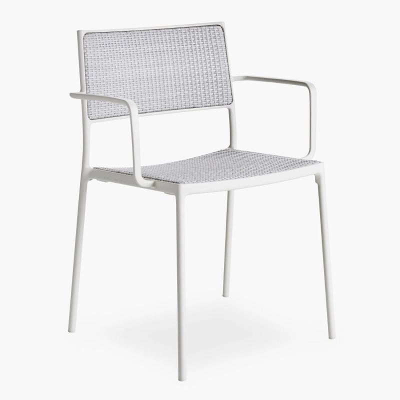Less Chair, White Weave
