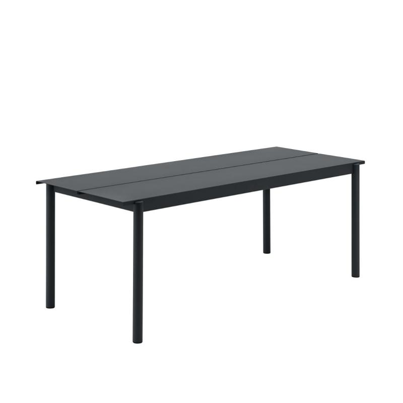 Linear Steel Table, 200x75cm