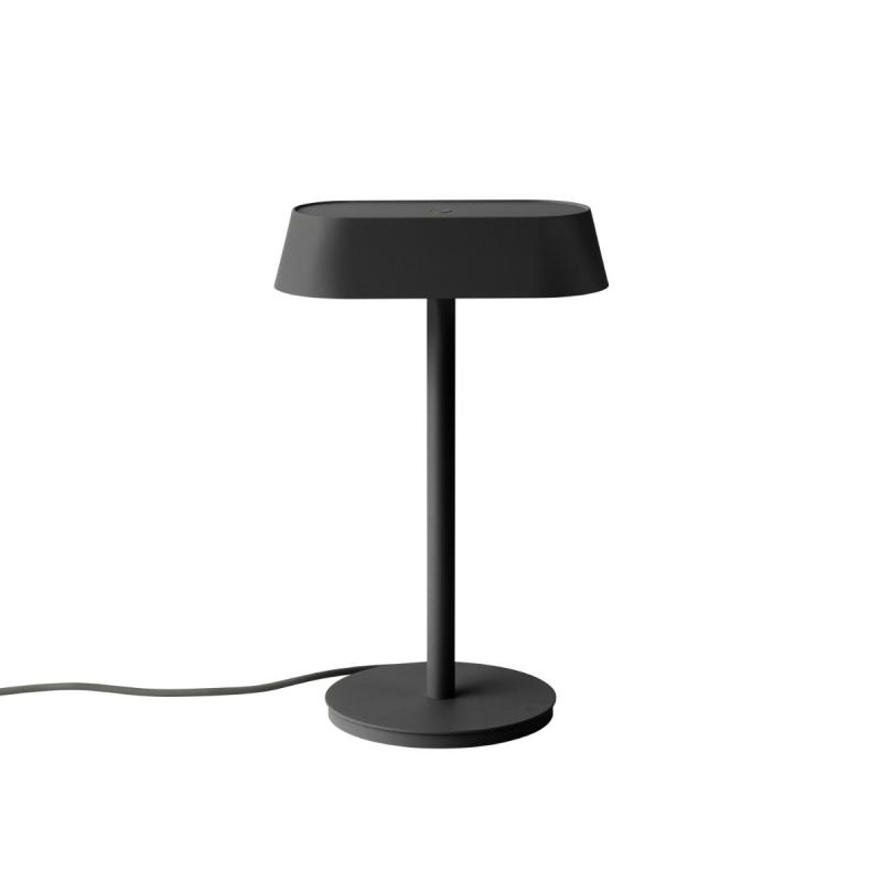 Linear Table Lamp, Black