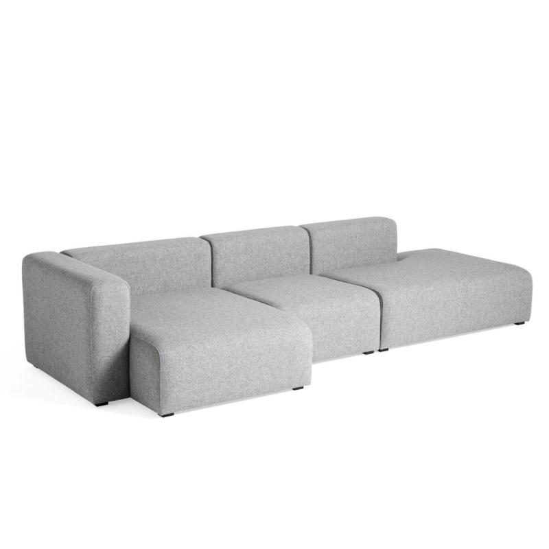 Mags Sofa, 3-Seater, Combination 4, Left End, Grey