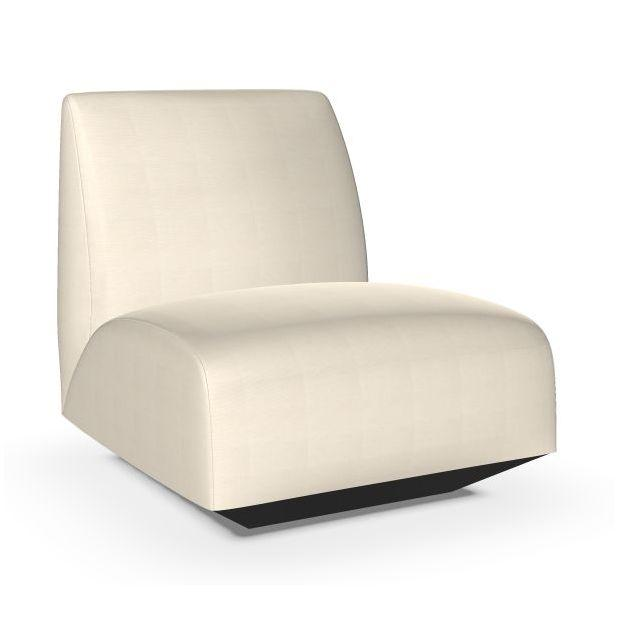 Manfred Sofa, 1-Seater, White Upholstery