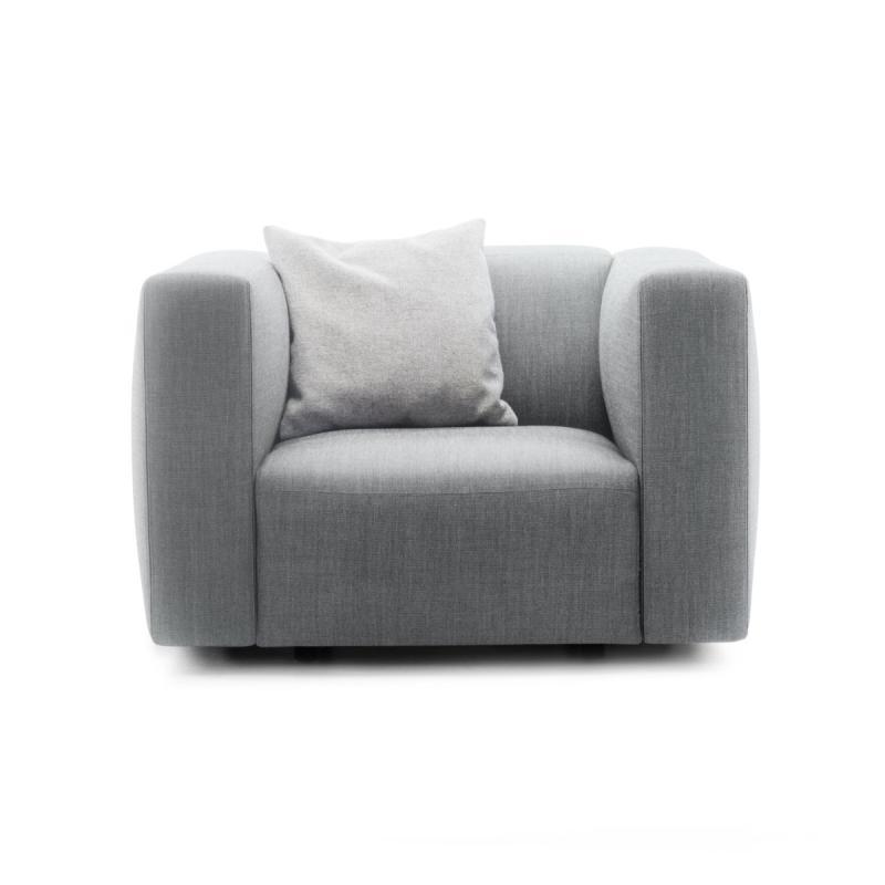 Match Armchair, L, Grey