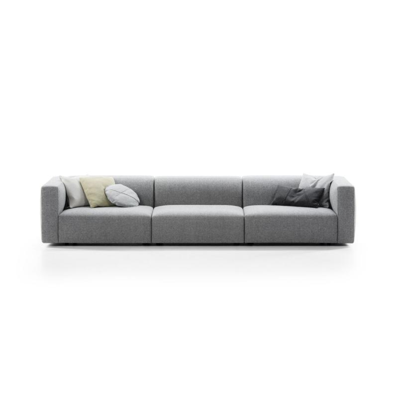 Match Sofa, L, 3-Seater, Grey