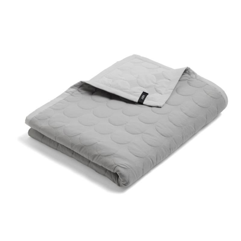 Mega Dot Bed Cover, M, Light Grey