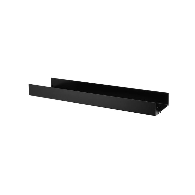 String Metal Shelf, High Edge, 1-pack, 78x20cm