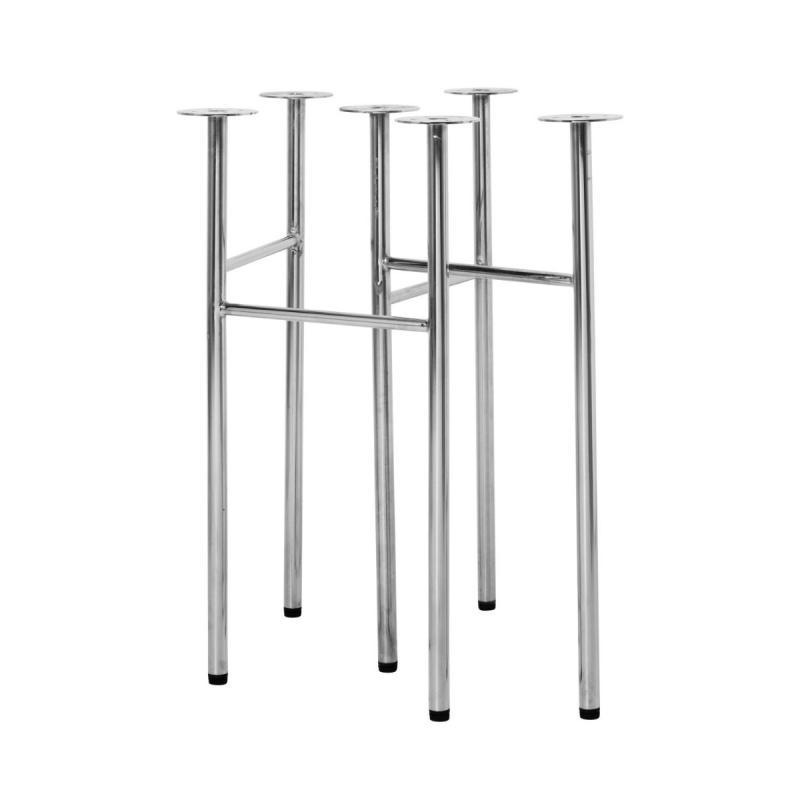 Mingle Table Legs, Metal, Narrow