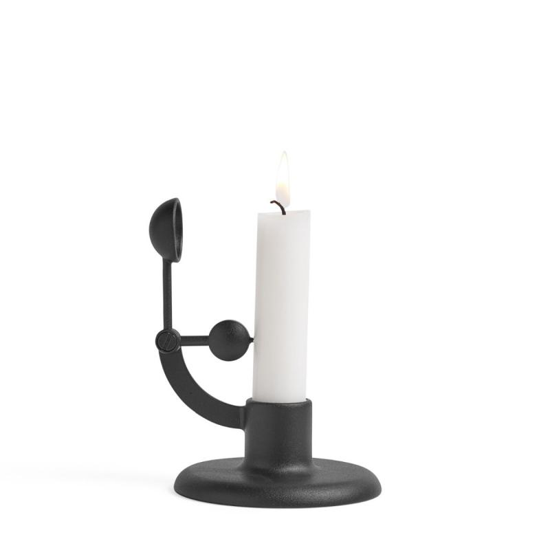 Moment Candlestick, Black