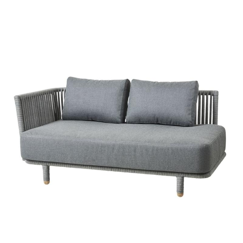 Moments 2-Seater Sofa Right Module, Grey