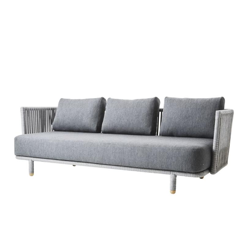 Moments 3-Seater Sofa, Grey