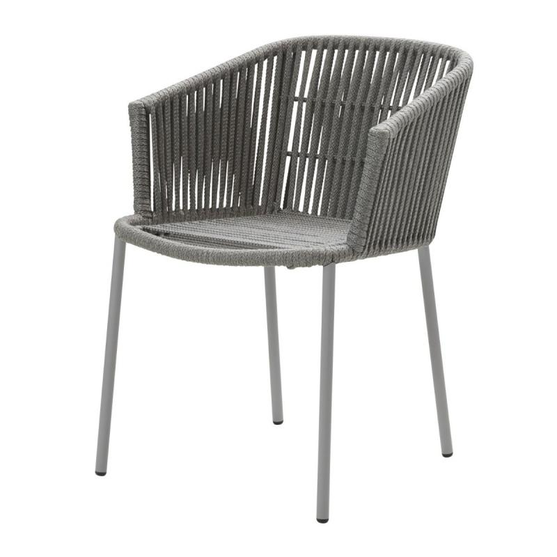 Moments Chair, Stackable, Grey