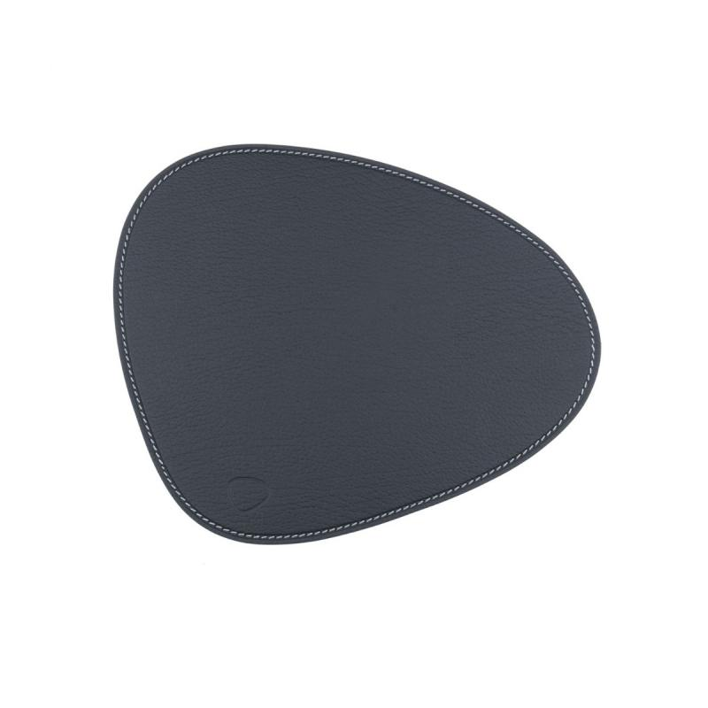 Curve Mouse Mat, Bull Leather