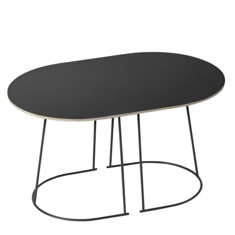 Airy Coffee Table, Small, Black