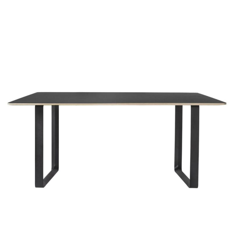 70/70 Table, 170x85cm, Black / Black