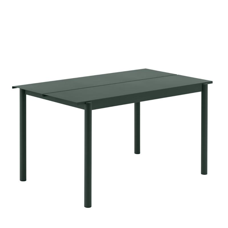 Linear Steel Table, 140x75cm