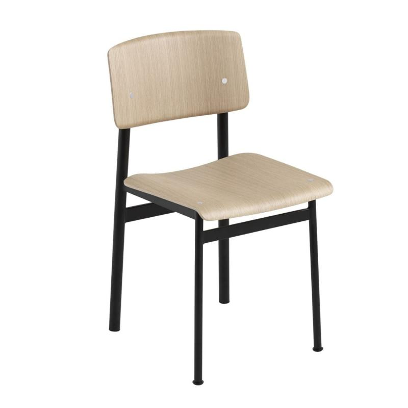 Loft Chair, Black / Oak