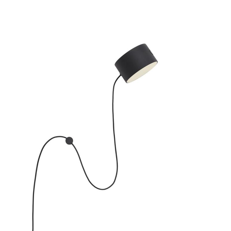 Post Wall Lamp, Black